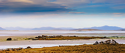 A beach on North Uist, Outer Hebrides, Scotland looking towards the island of Oronsay<br /> <br /> (c) Andrew Wilson | Edinburgh Elite media