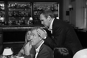 JEREMY CLKARKSON; A.A.GILL, Vanity Fair Lunch hosted by Graydon Carter. 34 Grosvenor Sq. London. 14 May 2013