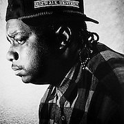 Former Blood gang member T Rogers. Photographed by Brian Smale for Rolling Stone Magazine.