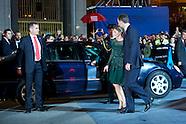 102513 Principes de Asturias Awards 2013 - Day 2 - Ceremony leaves