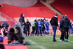 January 19, 2019 - Monaco, France - EQUIPE DE FOOTBALL DE STRASBOURG - JOIE (Credit Image: © Panoramic via ZUMA Press)