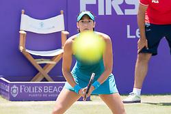 Caroline Garcia (FRA) during the Mallorca Open at Country Club Santa Ponsa on June 22, 2018 in Mallorca, Spain. Photo Credit: Katja Boll/EVENTMEDIA.