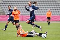 FOOTBALL - FRENCH WOMEN CHAMPIONSHIP 2012/2013 - D1 - PARIS SAINT GERMAIN VS ARRAS - 14/10/2012 - KOSOVARE ASSLLANI (PARIS SAINT-GERMAIN)