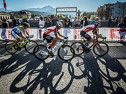PRIMOZIC Jaka of Slovenia, CARVALHO Goncalo of Portugal, CARVALHO Andre of Portugal during the Men Under 23 Road Race 179.9km Race from Kufstein to Innsbruck 582m at the 91st UCI Road World Championships 2018 / RR / RWC / on September 28, 2018 in Innsbruck, Austria.  Photo by Vid Ponikvar / Sportida