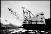 Brutus Dragline Shovel, 6,000,000 pounds, 25,000 volts, Northern BC