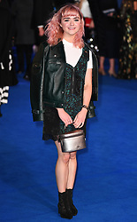 The European Premiere of 'Mary Poppins Returns' at The Royal Albert Hall, London, UK, on the 12th December 2018. 12 Dec 2018 Pictured: Maisie Williams. Photo credit: James Whatling / MEGA TheMegaAgency.com +1 888 505 6342