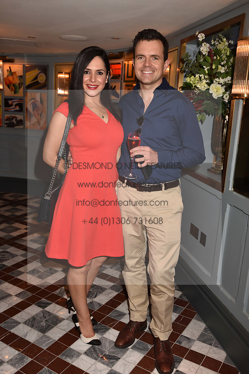 Naz Ghaffar and Charlie Rose at the opening of The Ivy Cobham Brasserie, Cobham, Surrey, England. 31 May 2017.