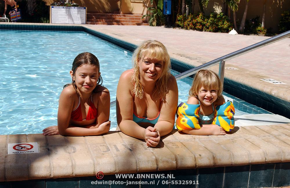 Vakantie Miami Amerika, Linda, Anneke en Diana Janssen