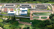 Ribeirao das Neves_MG, Brasil...Vista aerea da penitenciaria Dutra Ladeira em Ribeirao das Neves...The aereal view of the prison Dutra Ladeira at Ribeirao das Neves...Foto: BRUNO MAGALHAES /  NITRO