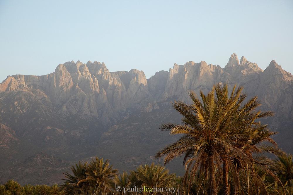 The Hagier Mountains near Hadibu, Socotra, Yemen