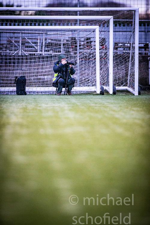 Stenhousemuir 1 v 4 Arbroath, Scottish Football League Division One play12/1/2019 at Ochilview Park.