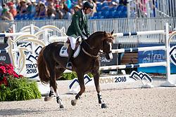 Veniss Pedro, BRA, Quabri de L Isle<br /> World Equestrian Games - Tryon 2018<br /> © Hippo Foto - Dirk Caremans<br /> 23/09/2018