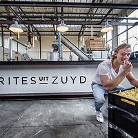 Nederland, Zaandam, 5 september 2017.<br />Quirin van Engelshoven in zijn fritesfabriek Frites uit Zuyd<br /><br /><br /><br />Foto: Jean-Pierre Jans