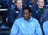 Tottenham's Ugo Ehiogu looks on during the U21 Premier League match at the White Hart Lane Stadium.  Photo credit should read: David Klein/Sportimage