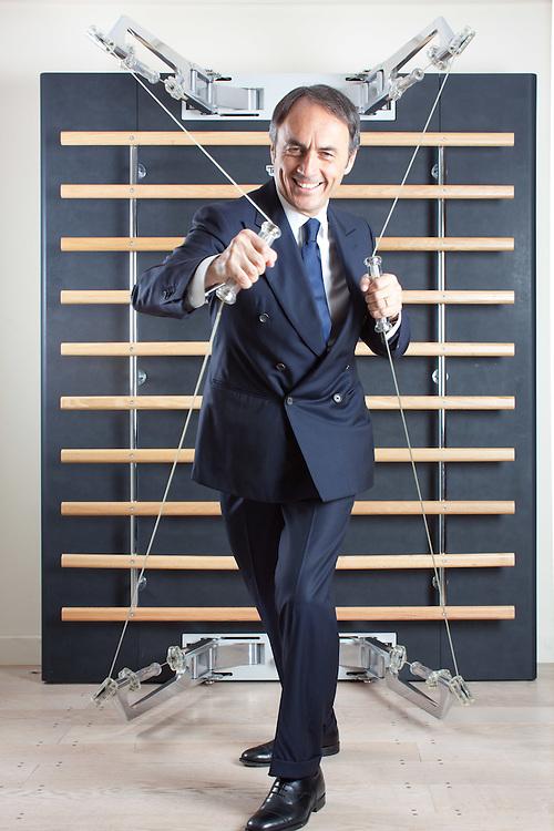 05 JUN 2010 - Cesena - Nerio Alessandri, fondatore di Technogym :-: Italian industrialist Nerio Alessandri, founder of Technogym