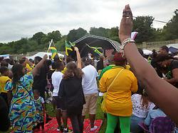 Jamaica community independence festival Crystal Palace, South London, UK