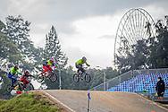 2021 UCI BMXSX World Cup<br /> Round 4 at Bogota (Colombia)<br /> Qualification Moto<br /> ^mu#610 GUTIERREZ BELENO, Edwin David (COL, MU) <br /> ^mu#635 CASTRO CEVALLOS, Cristhian Felicicimo (ECU, MU)