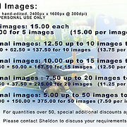 DIGITAL IMAGE PRICE LIST