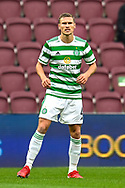 Carl Starfelt (#4) of Celtic FC during the Cinch SPFL Premiership match between Heart of Midlothian FC and Celtic FC at Tynecastle Park, Edinburgh, Scotland on 31 July 2021.