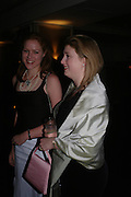 Katherine William and Virginia Ramsden. ( Mrs. Sean) White Knights Ball, Grosvenor House Hotel 7 January 2005. ONE TIME USE ONLY - DO NOT ARCHIVE  © Copyright Photograph by Dafydd Jones 66 Stockwell Park Rd. London SW9 0DA Tel 020 7733 0108 www.dafjones.com