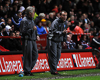 Photo: Tony Oudot/Sportsbeat Images.<br /> Charlton Athletic v Ipswich Town. Coca Cola Championship. 08/12/2007.<br /> Ipswich Town manager Jim Magilton shouts out instructions from the touchline