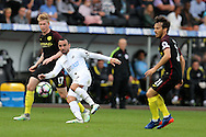 Leon Britton of Swansea city © in action. Premier league match, Swansea city v Manchester city at the Liberty Stadium in Swansea, South Wales on Saturday 24th September 2016.<br /> pic by Andrew Orchard, Andrew Orchard sports photography.