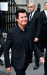 Simon Fuller arrives to attend the Victoria Beckham London Fashion Week SS19 show in Dover Street, London.