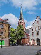 Olsztyn, 2014-05-18. Kościół ewangelicko-augsburski p.w. Chrystusa Zbawiciela.