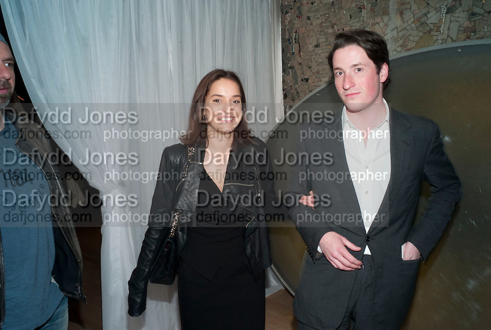 MARY-LOUISE STOFFEL  ; BLAISE PATRICK, An evening at Sanderson to celebrate 10 years of Sanderson, in aid of Clic Sargent. Sanderson Hotel. 50 Berners St. London. W1. 27 April 2010 *** Local Caption *** -DO NOT ARCHIVE-© Copyright Photograph by Dafydd Jones. 248 Clapham Rd. London SW9 0PZ. Tel 0207 820 0771. www.dafjones.com.<br /> MARY-LOUISE STOFFEL  ; BLAISE PATRICK, An evening at Sanderson to celebrate 10 years of Sanderson, in aid of Clic Sargent. Sanderson Hotel. 50 Berners St. London. W1. 27 April 2010