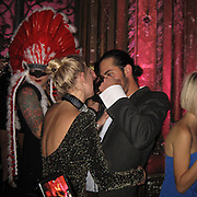 **EXCLUSIVE**.Alexandra Richards and boyfriend DJ Nick Cohen..YSL, Yves Saint Laurent Perfume Launch party..New York, NY, USA..Thursday, October 29, 2009..Photo By Celebrityvibe.com.To license this image please call (212) 410 5354; or Email: celebrityvibe@gmail.com ; .website: www.celebrityvibe.com.