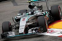 06 ROSBERG nico (ger) mercedes gp mgp w06 action during the 2015 Formula One World Championship, Grand Prix of Monaco from May 20 to 24th 2015, in Monaco. Photo Jean Michel Le Meur / DPPI