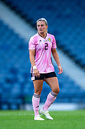 Kirsty Smith (#2) of Scotland during the International Friendly match between Scotland Women and Jamaica Women at Hampden Park, Glasgow, United Kingdom on 28 May 2019.