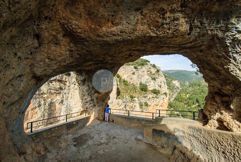 Ventano del Diablo. Parque Natural Serrania de Cuenca. Cuenca ©Antonio Real Hurtado / PILAR REVILLA