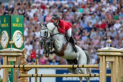 WATHELET Gregory (BEL), MJT Nevados S<br /> Aachen - CHIO 2018<br /> Mercedes Benz Nationenpreis<br /> 19. Juli 2018<br /> © www.sportfotos-lafrentz.de/Stefan Lafrentz
