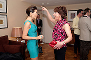DANNII MINOGUE; KATHY LETTE Terry Ronald - book launch party for his book ' Becoming Nancy' . The Westbury Hotel, Pine Room, Bond Street, London, W1S 2YF<br /> -DO NOT ARCHIVE-© Copyright Photograph by Dafydd Jones. 248 Clapham Rd. London SW9 0PZ. Tel 0207 820 0771. www.dafjones.com.