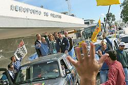 A candidata ao governo do Estado do RS, Yeda Crusius durante carreata em Pelotas. FOTO: Jefferson Bernardes/Preview.com