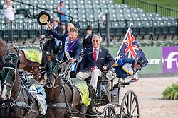 Exell Boyd, AUS, De Vos Ingmar, BEL<br /> World Equestrian Games - Tryon 2018<br /> © Hippo Foto - Dirk Caremans<br /> 23/09/2018