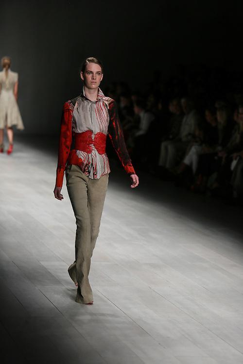 Todd Lynn show during London Fashion Week, Spring/Summer 2013