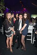 ISLA HODSALL; KAI SCHACTER; MATILDA WYMAN, Gabrielle's Gala 2013 in aid of  Gabrielle's Angels Foundation UK , Battersea Power station. London. 2 May 2013.