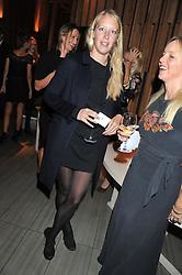 ALICE ROTHSCHILD at the Pig Business Fundraiser, Sake No Hana, St.James's, London on 26th September 2012.