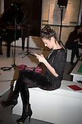 MARINA KIM, Edition #1.Special Event Edge of Arabia, sponsored by Bulgari Hotels. -  Elcho St. London. 17 December 2013. bulgari hotels
