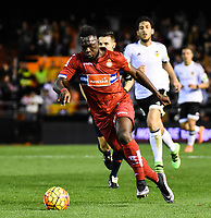 RCD Espanyol's Caicedo  during La Liga match. February 13, 2016. (ALTERPHOTOS/Javier Comos)