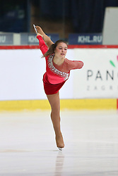 05.12.2015, Dom Sportova, Zagreb, CRO, ISU, Golden Spin of Zagreb, freies Programm, Damen, im Bild Tena Copor, Croatia. // during the 48th Golden Spin of Zagreb 2015 ladys Free Program of ISU at the Dom Sportova in Zagreb, Croatia on 2015/12/05. EXPA Pictures © 2015, PhotoCredit: EXPA/ Pixsell/ Davor Puklavec<br /> <br /> *****ATTENTION - for AUT, SLO, SUI, SWE, ITA, FRA only*****