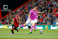Football - 2016 / 2017 Premier League - AFC Bournemouth vs. Hull City<br /> <br /> Harry Maguire of Hull City swerves past the challenge of Bournemouth's Harry Arter at Dean Court (The Vitality Stadium) Bournemouth<br /> <br /> Colorsport/Shaun Boggust