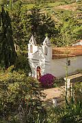 Chapel in the grounds of Hacienda Piman, Imbabura Province, Ecuador, South America