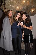 ROLU WAZIN; SINNA ABUZHAZALEH; JASMINE ARISS, PAD COLLECTORS PREVIEW NIGHT - BERKELEY SQ. LONDON, MONDAY 3 OCTOBER