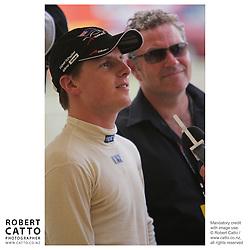 Jonny Reid at the A1 Grand Prix of New Zealand at the Taupo Motorsport Park, Taupo, New Zealand.