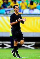 Fifa Brazil 2013 Confederation Cup / Group A Match /<br /> Brazil vs Italy  4-2  ( Arena Fonte Nova Stadium - Salvador De Bahia , Brazil )<br /> The Referee Ravshan IRMATOV , during the match between Brazil and Italy