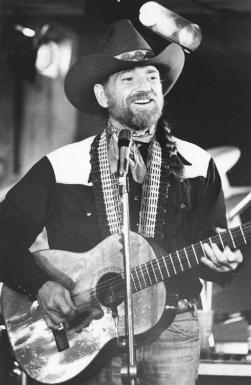 ©1979 Singer Willie Nelson in Austin, Texas