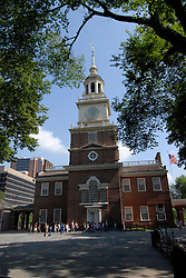 Independence Hall..Philadelphia, Pennsylvania, PA USA.  Photo copyright Lee Foster, 510-549-2202, lee@fostertravel.com, www.fostertravel.com. Photo 370-30706